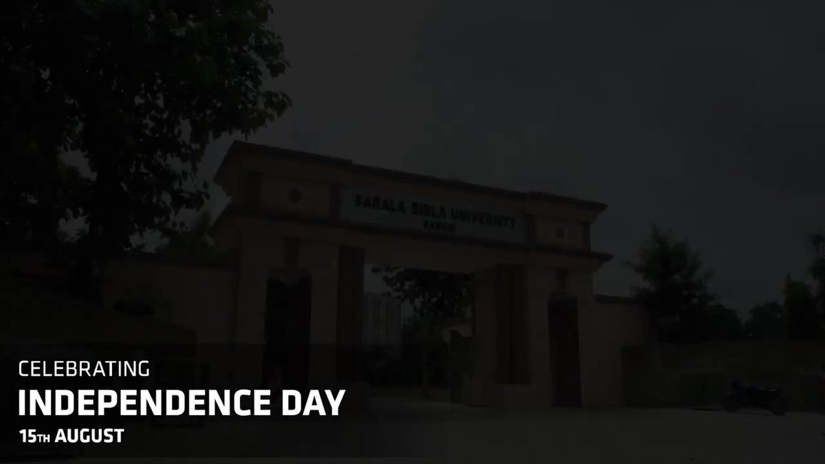 On the 73rd Independence Day, SBU paid homage to the freedom fighters of India who laid down their lives to free our Nation. We will forever be grateful for their sacrifices. Here's a glimpse of how SBU celebrated this important day. #SBU #SBURanchi #IndependenceDay #Freedom https://t.co/5Agp0hL3Ch