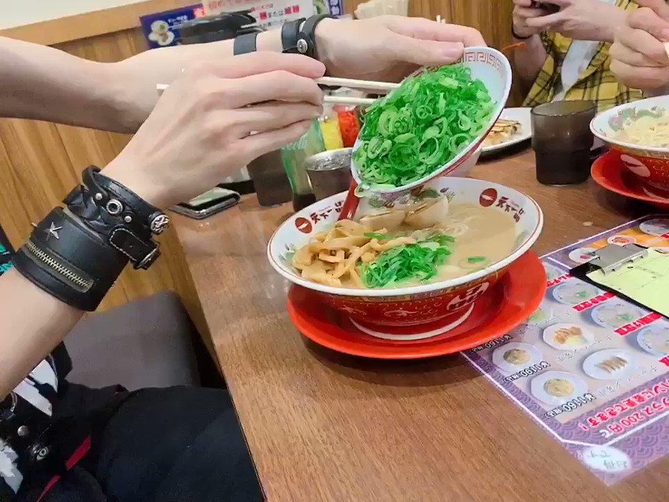 メンバーカラー緑の男🌱意識高め(ツアー大阪後のご飯)