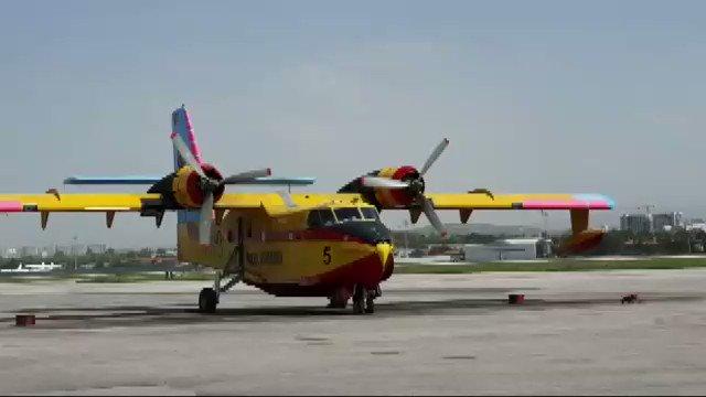 İşte çalışmıyor denilen THK uçağı! Bakan Pakdemirli'nin