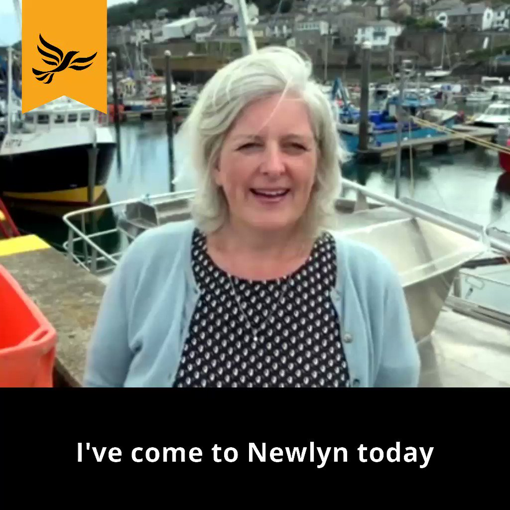 Today I visited #Newlyn, a fishing port in the West of #Cornwall to find out what those working in & around the fishing industry think about #Brexit. Superfast easy access to the European export market is absolutely essential. We must #StopBrexit to protect our fishing industry.