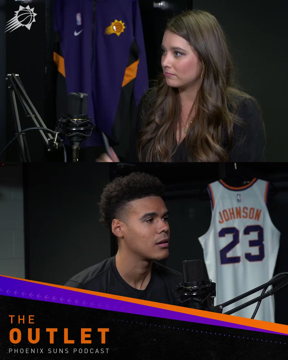 Cam's nickname? Why he wears 23? His choice of chicken sandwich?   Find out more about the Suns rookie on this week's episode of The Outlet!  LISTEN HERE: https://apple.co/30rRWMz  WATCH HERE: http://bit.ly/2Hn1TU5