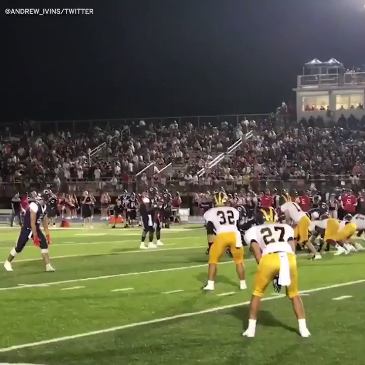 Theres shredding the defense ... then theres this 🤭 (via @Andrew_Ivins)