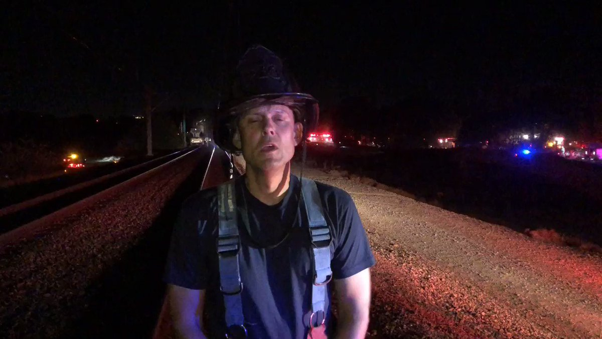 Train derailment in Sacramento injures 27 people, according to preliminary reports