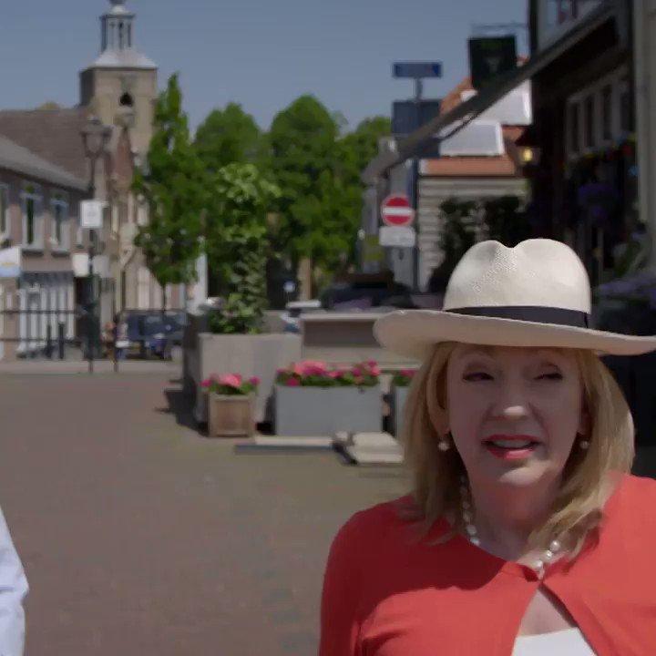 Laatste aflevering Denkend aan Holland: André en Janny gaan fietsen