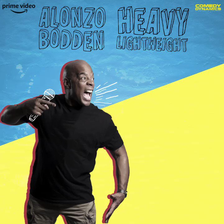 RT @AlonzoBodden: Today's the Day. My special Heavy Lightweight premiers on Amazon Prime @PrimeVideo https://t.co/3kT2oeV9g1