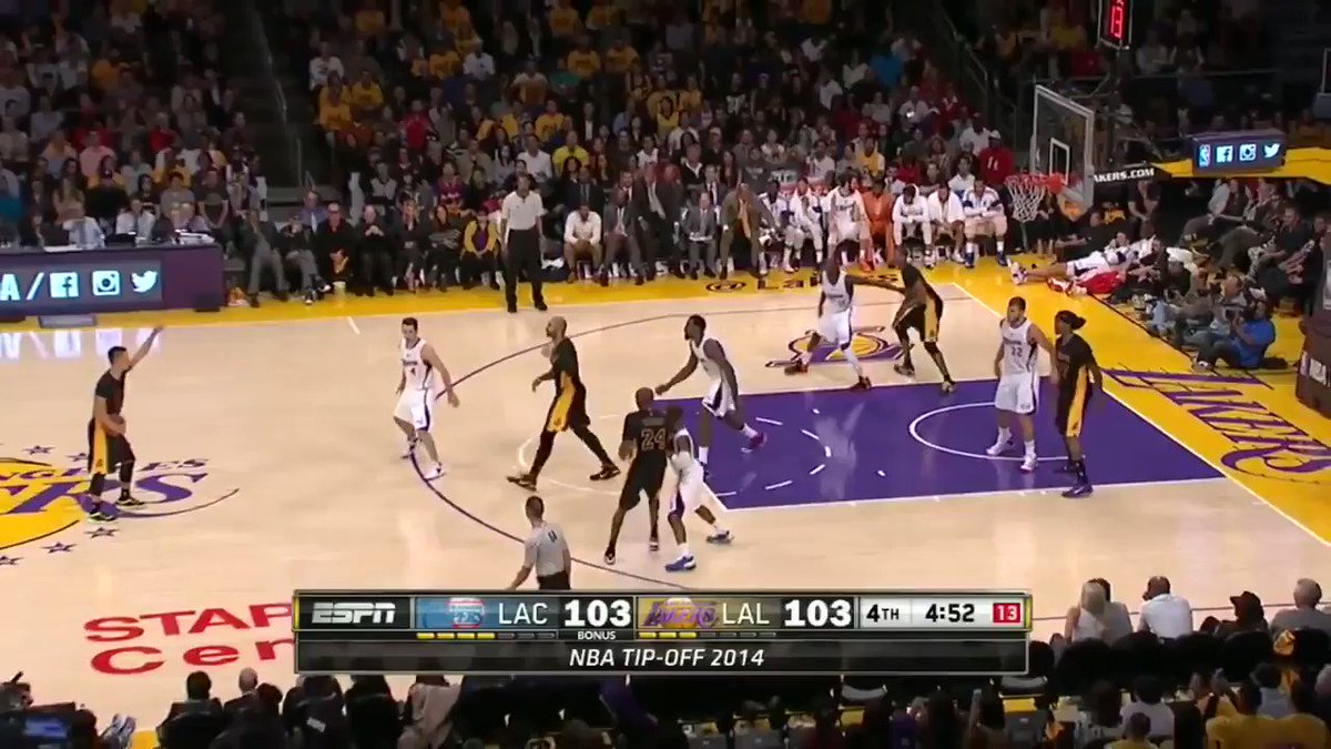 For @JLin7 and @kobebryants birthday ... Well never forget when Lin waved off - WE REPEAT, WAVED OFF - Kobe 😂