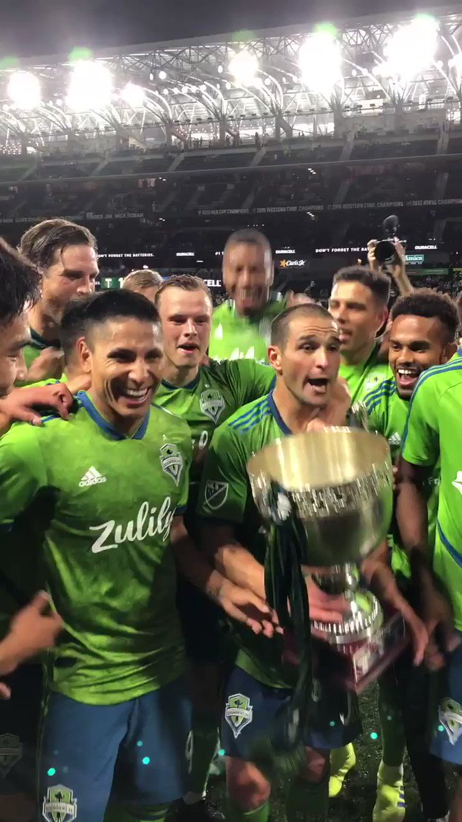 The Cascadia Cup stays in Seattle for another year! #PORvSEA // Heineken #RivalryWeek