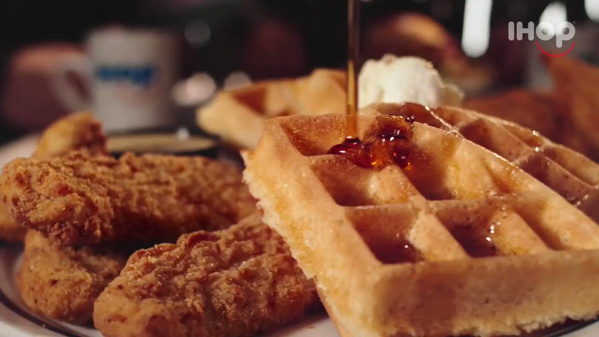 Image for the Tweet beginning: Today's #NationalWaffleDay, so if you're