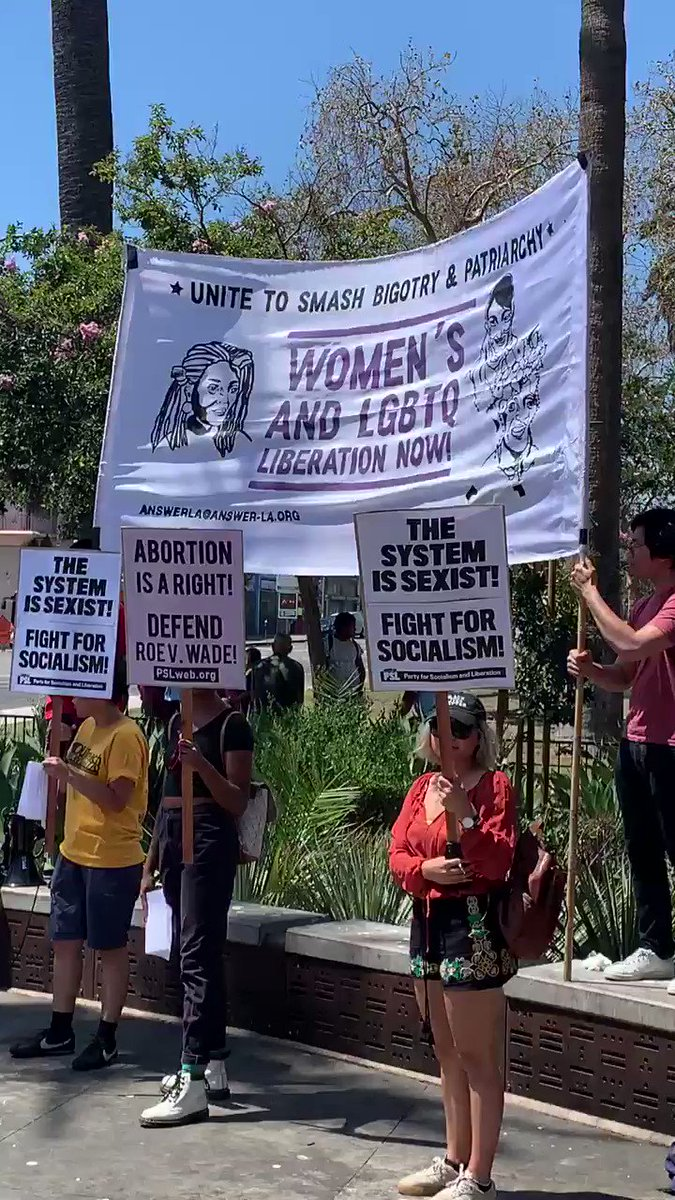 Protestors gathered today to smash bigotry & the patriarchy in McArthur Park Los Angeles  This is the same area that saw a 36% spike in homelessness, almost 1 million illegal immigrants & endless garbage piles  But hey, let's ignore the problems & blame men and capitalism instead
