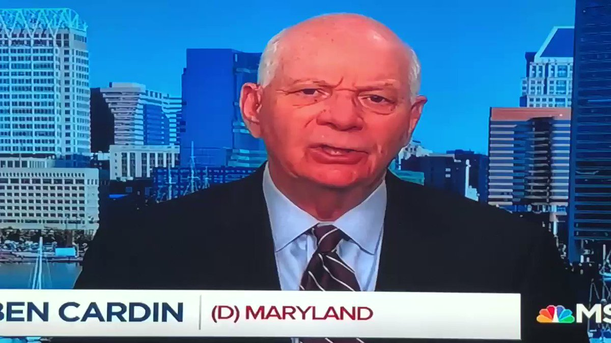Discussing Trump's attacks on the Jewish community and his attacks on Baltimore with Senator Ben Cardin. #PoliticsNation