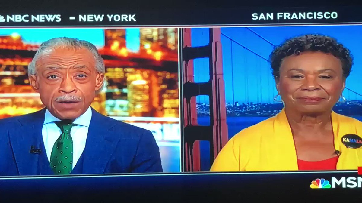 Support for Trump's impeachment has grown, California Rep Barbara Lee joined me on #PoliticsNation to discuss.