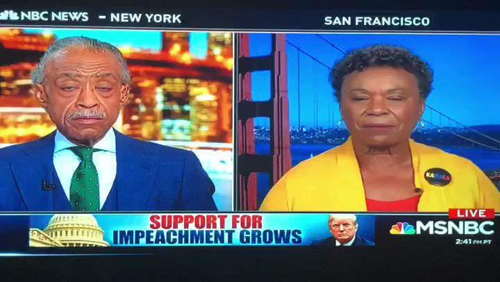 California Rep Barbara Lee talks about issues under the Trump administration. #PoliticsNation
