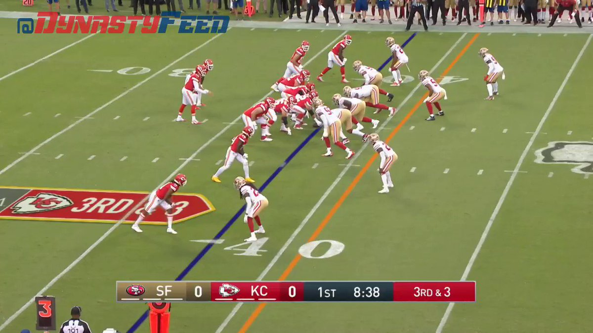 RT @dynastyfeed: PATRICK MAHOMES TO DAMIEN WILLIAMS! https://t.co/heDeaecPzc