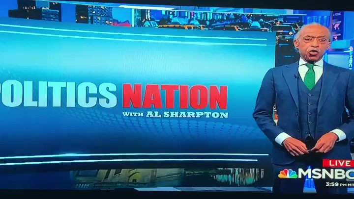 Part 2 of my #PoliticsNation closing thoughts. Visit msnbc.com/politicsnation for video clips and be sure to tune in to MSNBC tomorrow at 5pm ET for another episode of @politicsnation.