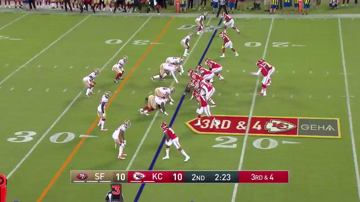 Kyle Shurmur hit the bullseye 🎯 @Chiefs
