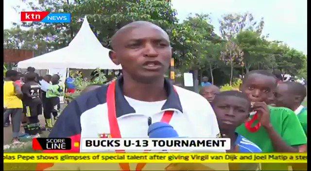 RT @KTNNewsKE: Bucks under 13 tournament.   #KTNScoreline with @R_okenye on @KTNNewsKE https://t.co/oDiC6wLzoC https://t.co/3BgjyZ4ojD