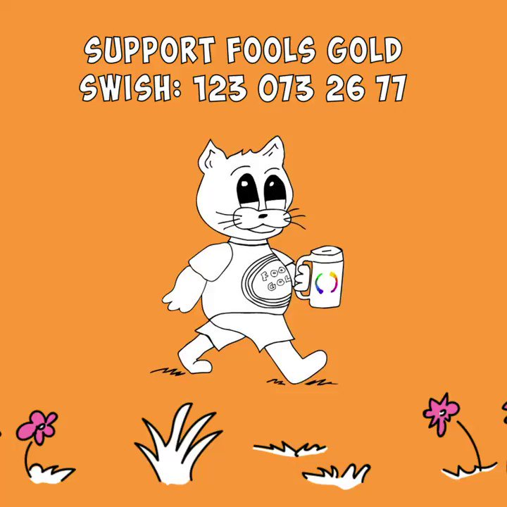 Thanks to everyone whos already donated, your support means the world to us when we now start working with Fools Gold 2020!