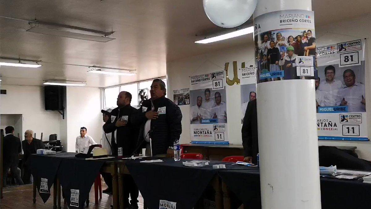 #AEstaHora inicia el lanzamiento de campaña en la Localidad de Santafe. Es una alegría inmensa ver el apoyo de tantas personas, junto a mi compa @mabricort a este gran proyecto, que busca trabajar en pro de los ciudadanos de Bogotá.