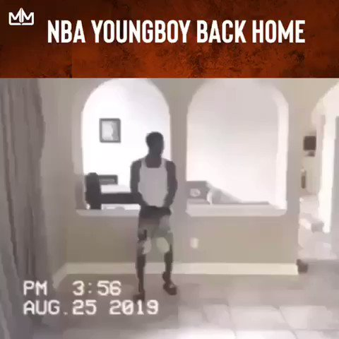 RT @mymixtapez: NBA Youngboy is back home on house arrest, drop your favorite song by Youngboy in the comments https://t.co/cbo3l86TJ1