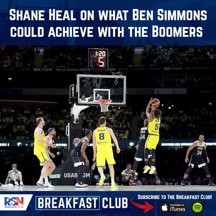 Would you like Ben Simmons to commit to the Boomers?  Shane Heal believes the possibilities are endless when it comes to our up and coming great hope starring in our national colours.  Shane Heal on @RSNBreakfast : https://t.co/SbyYgA2fud https://t.co/Pjx9F7oTEP