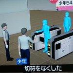 無賃乗車の可能性あり!少年ら4人が駅員と揉め・警察が出動する羽目に。