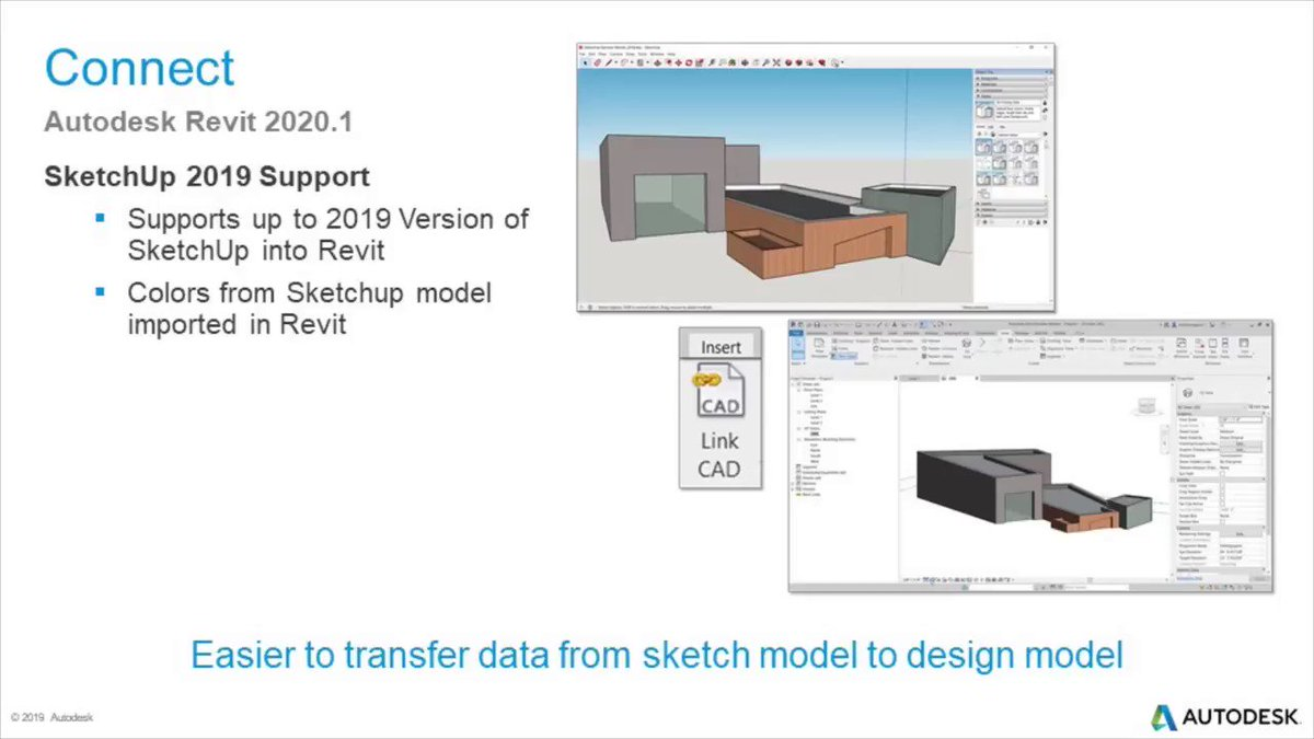 Easily transfer data from sketch model to design model with