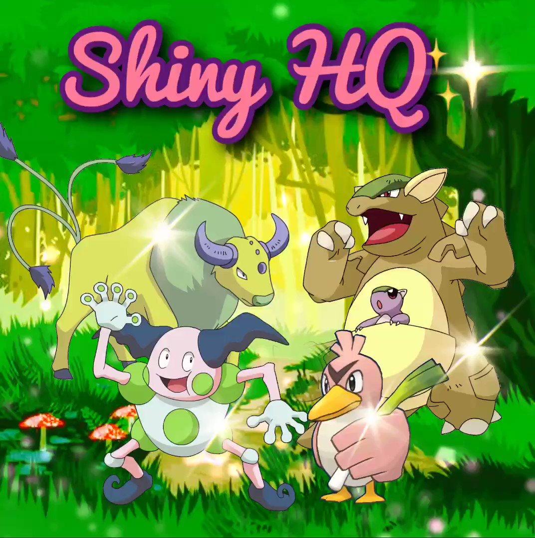✨Pokemon Go Shiny HQ✨ - @ShinyHq Twitter Profile and