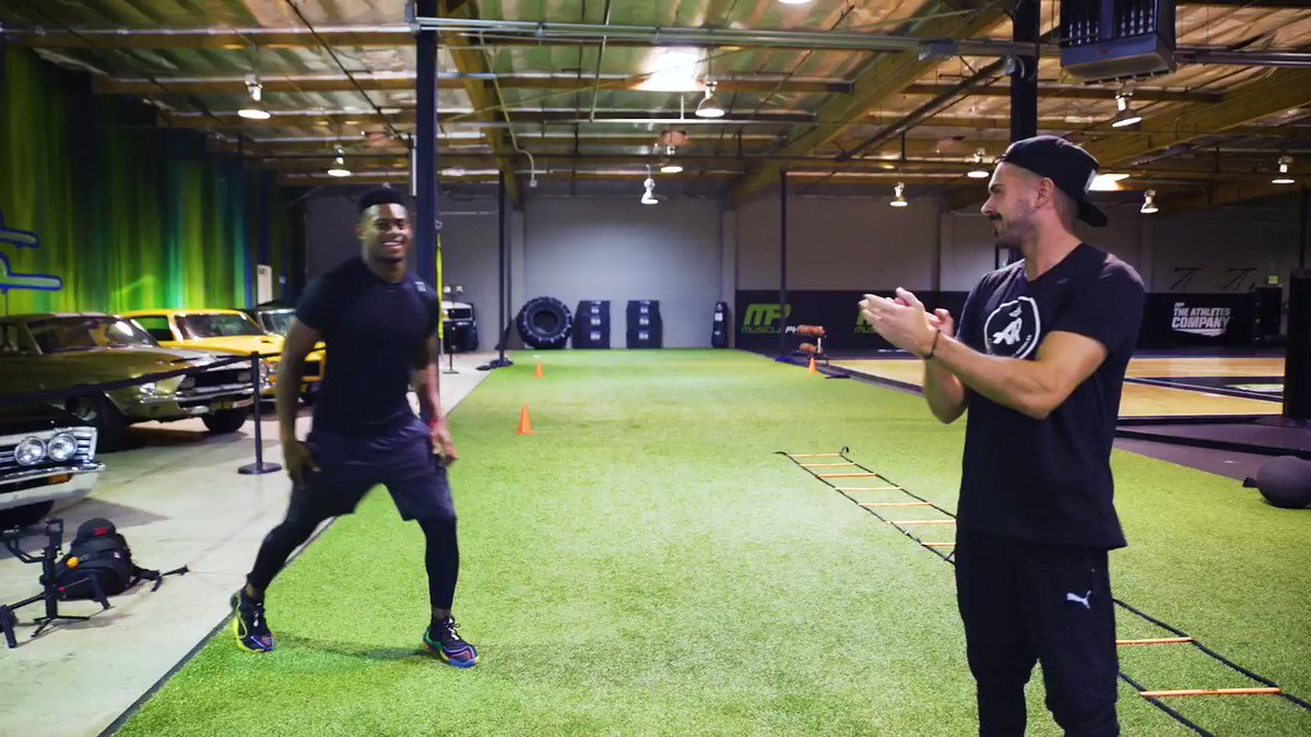 Grateful to @TeamJuju  Smith-Schuster for giving #GymTime  a taste of how an All-pro NFL player really trains.   🎥