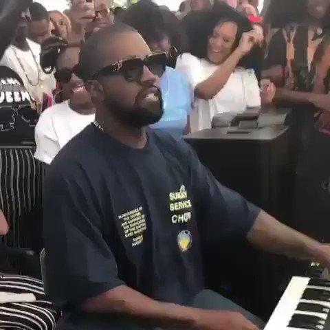- No Kanye no party 😎