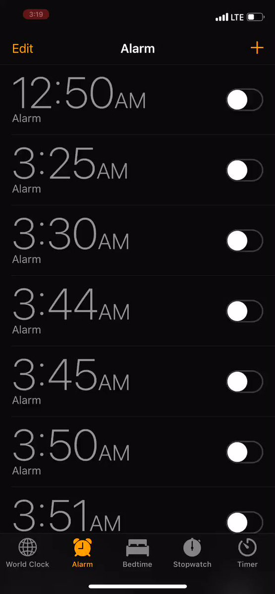 Endless alarms, also known as— I'm a serial nap-taker and traveler. twitter.com/1followernodad…