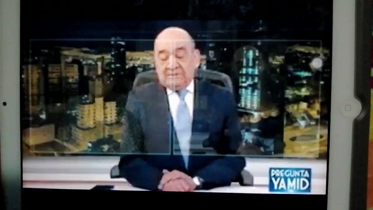 """La pregunta de Yamid Amat que sacó de casillas a Uribe:""""¿Ustedes prefieren la guerra, como propone Uribe, o la paz, como propone la Dra. Patricia Linares? ¿Guerra o paz?"""""""