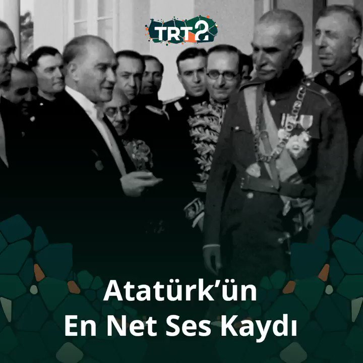 Atatürkün en net ses kaydıymış. Mükemmel