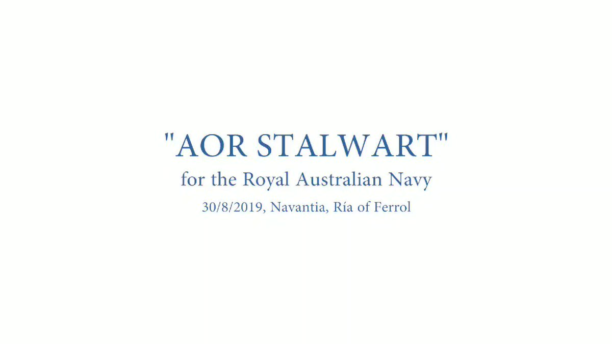 """The delivery into service of the Supply class replenishment vessels from next year will provide Navy with vital afloat logistics support to enable our ships to remain at sea longer,"" Defence Minister Reynolds said. Proud to be supporting @Australian_Navy with their sustainment."