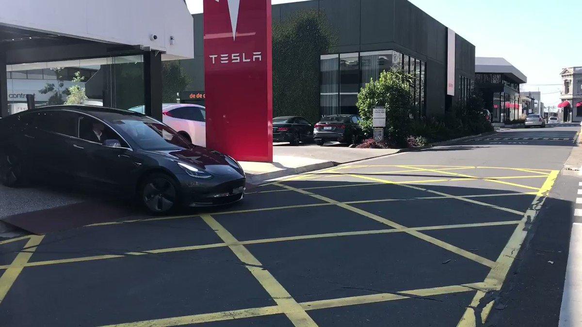 Model 3 has arrived in Australia 🦘