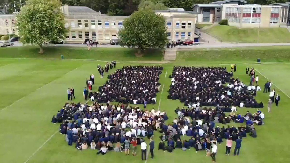 The start of a new academic year at Beechen Cliff. Whole school assembly on the 1st XV pitch. #upthebeech #beechencliff #opportunity