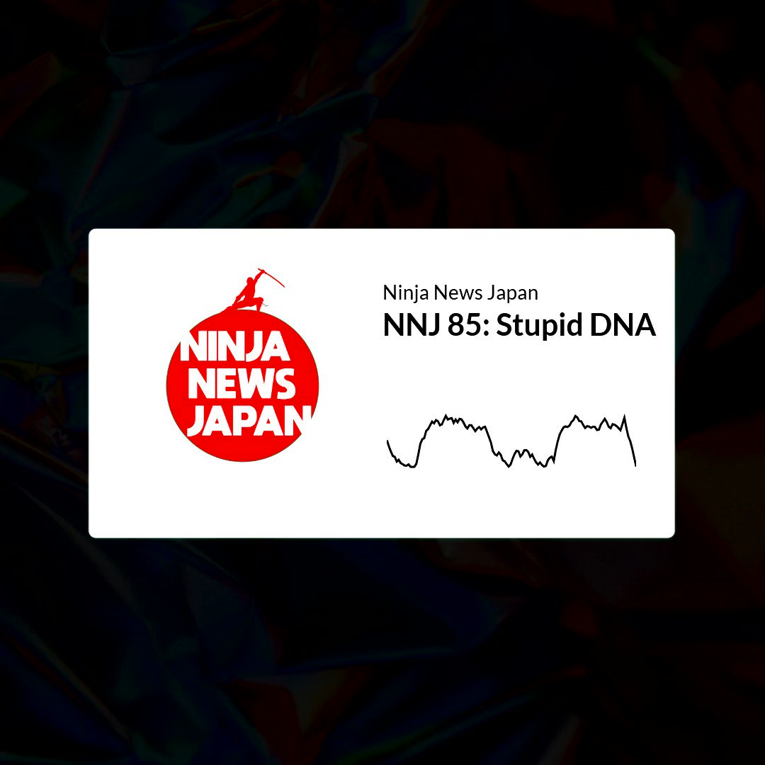 Ninja News Japan Ep. 85 Stupid #DNA. Have train #gropers finally been defeated? Also, a scientist seems to not really understand science, like, how it works and everything.   2 Surveys, #taxes, disputed #islands oh my!