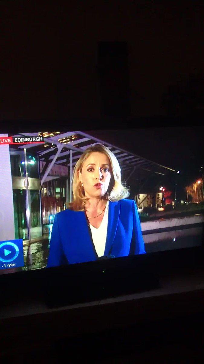 Brexit happens live on air