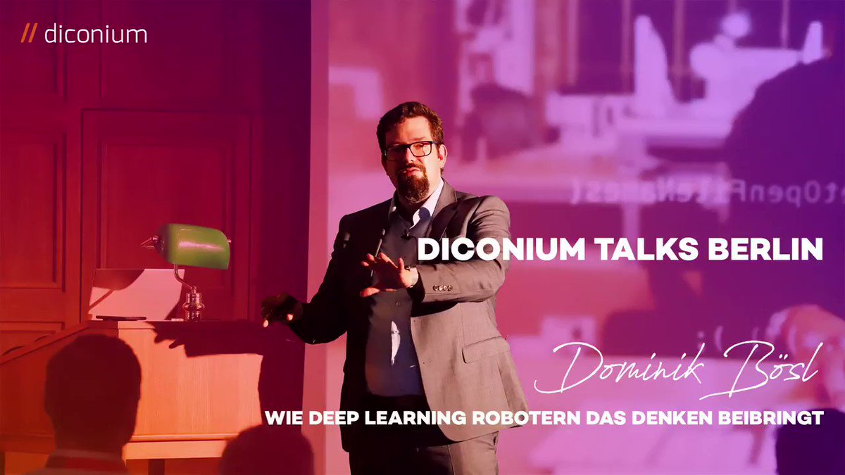 Image for the Tweet beginning: Wie lernen Roboter durch #DeepLearning?