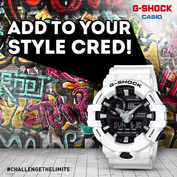 Street Fashion when youve got the funky GA700 on your wrist Buy it today. https t.co mFKeQoME0c https t