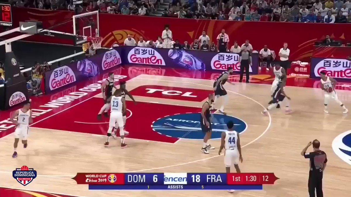Highlights 🇩🇴 vs 🇫🇷 • #VamosDOM🇩🇴 #DominicanaGotGame #FIBAWC #JetBlueAerolíneaOficial @FIBAWC @FoxDeportes
