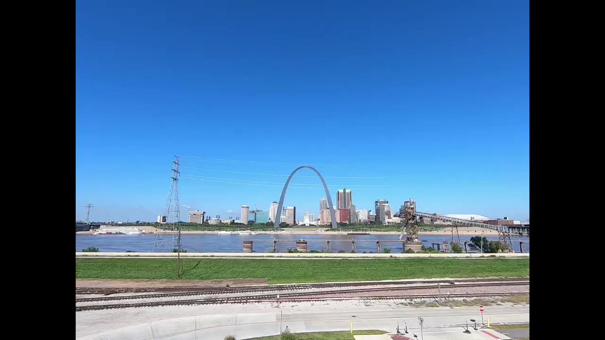 Your Blue Angels have arrived in St. Louis for this weekend's @SpiritAirshow Let's rock the home of the Hornet!