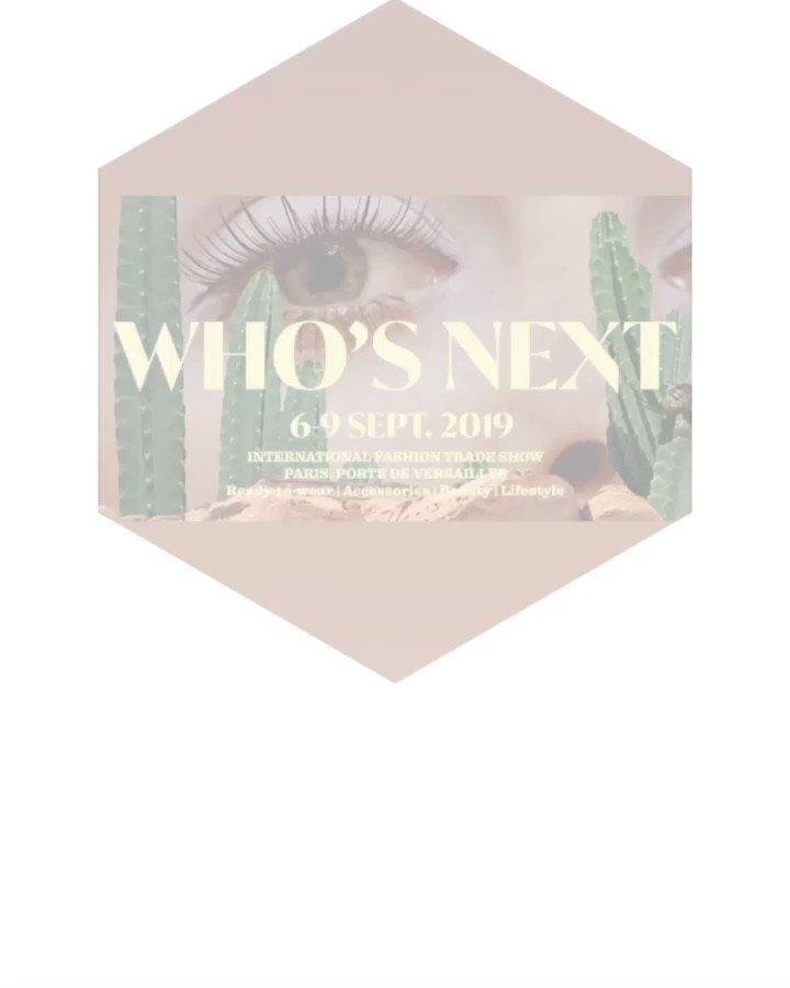 Salon who's next est ouvert c'est parti !!! @whosnextdotcom