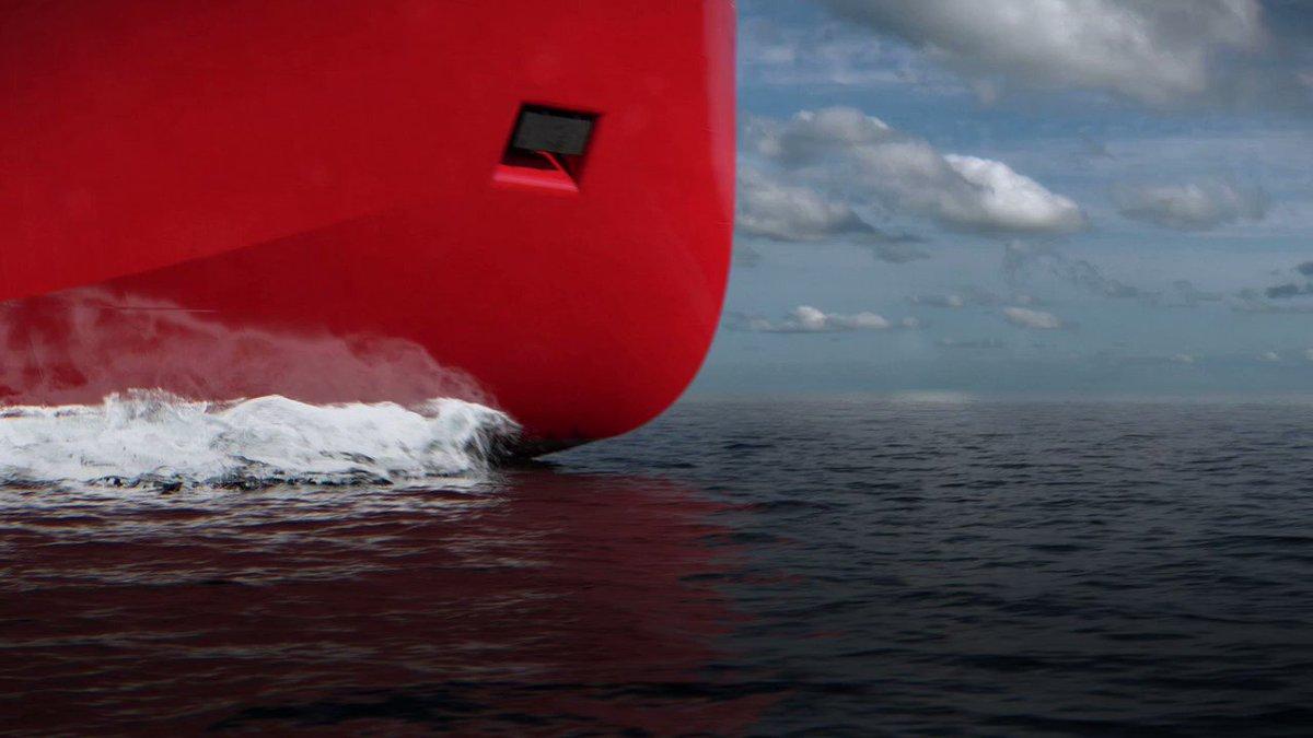 Image for the Tweet beginning: The #NewPolarShip RRS Sir David