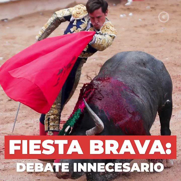 Fiesta brava, el debate necesario. Por @EdelRio70