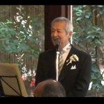 """感動!娘の結婚式で""""糸""""を歌うカッコ良すぎる父親"""