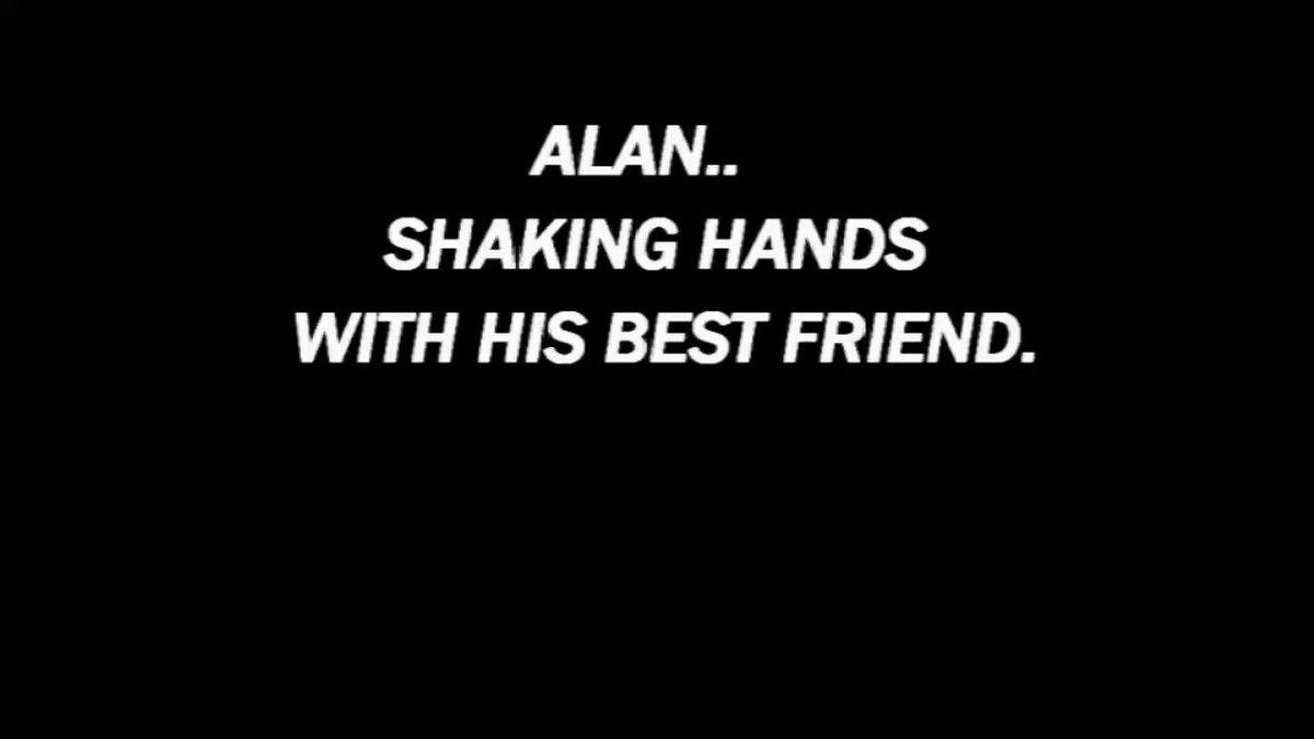 Alan shaking hands with his best friend. #animation #art #movies #stopmotionanimation #StopMotion #shortfilm #shortfilms #animated #drama #movie #artist 1