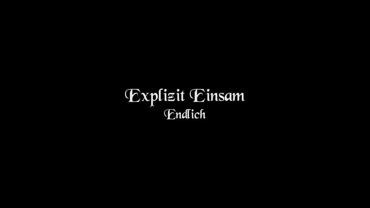 Endlich ist der Titel des neuen Songs von Explizit Einsam. Das Lied handelt von der Vergänglichkeit und der Suche nach dem Nexus. #darkwave #gothic #mittelalter #electro #wave #ndt #neuedeutschetodeskunst #ndh #deutschrock #schwarzromantik #klassik