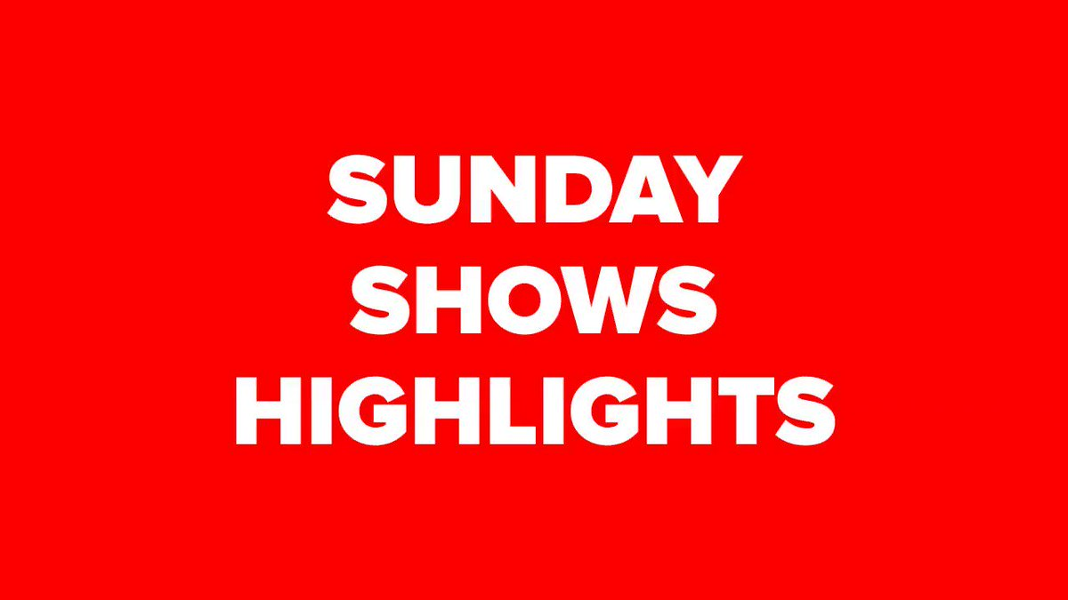 We watched em so you dont have to. The Sunday show highlights all in one place order-order.com/tag/sunday-sho…