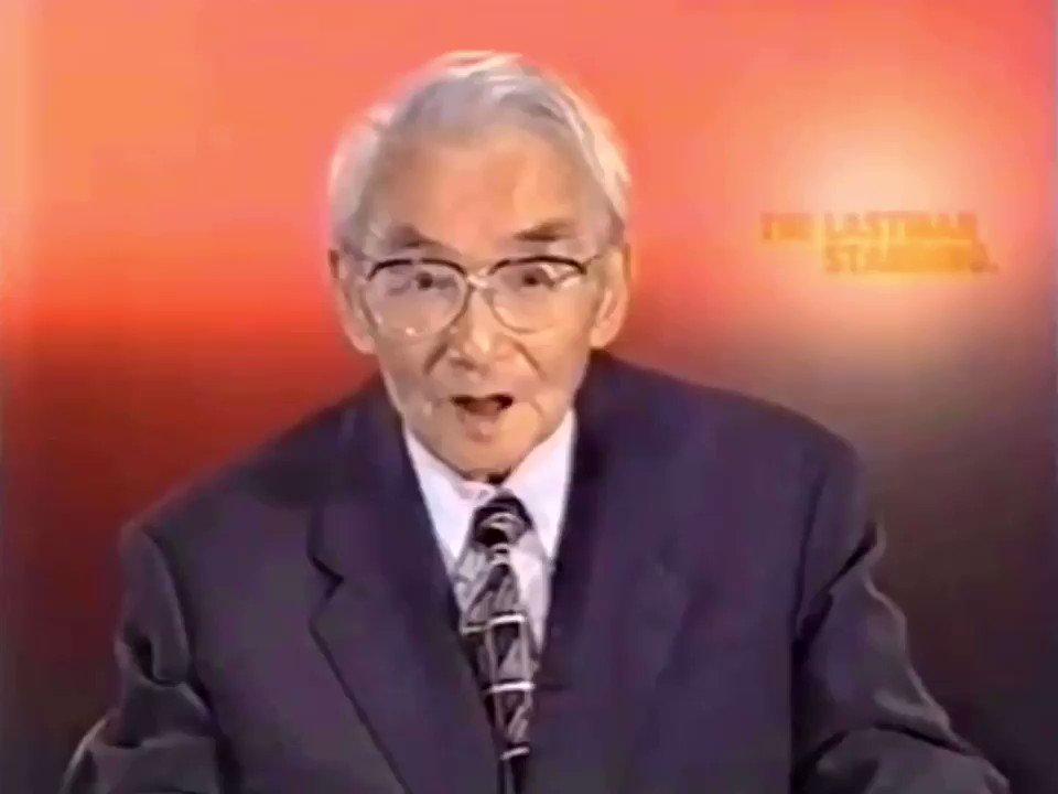 ❨日曜洋画劇場❩淀川長治、最期の解説収録の翌日死去。@retoro_mode