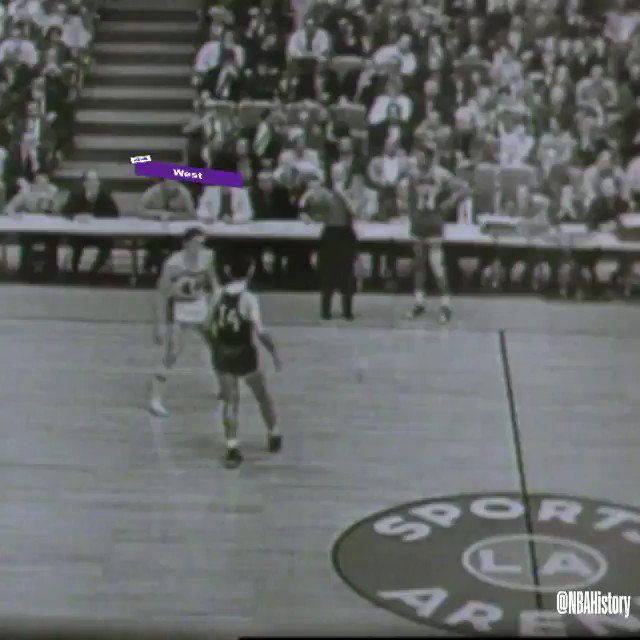 #RT @NBA: RT @NBAHistory: 4⃣4️⃣ days from #KiaTipOff19...   Relive Jerry West's steal and game-winning layup at the buzzer in Game 3 of the 1962 #NBAFinals! #NBABreakdown